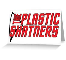 Plastic Shatners Red Logo Greeting Card