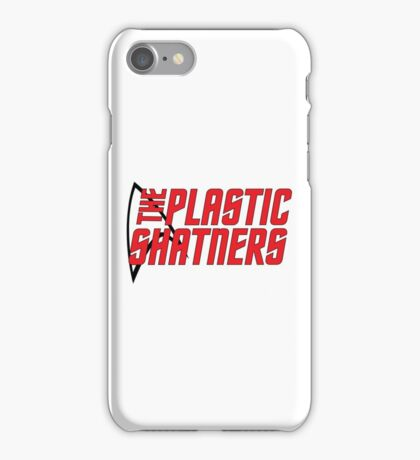 Plastic Shatners Red Logo iPhone Case/Skin
