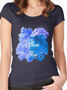 I'll Show You - Justin Bieber inspired White Women's Fitted Scoop T-Shirt