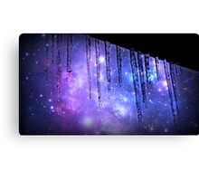 Frigid Galaxy  Canvas Print
