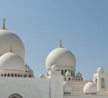 Grand Mosque, Abu Dhabi Sticker