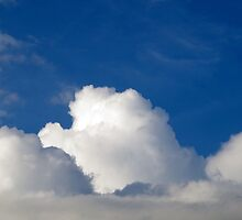 Fluffy White Clouds by rom01
