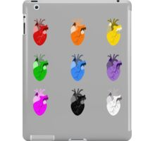A life Dynamic in Rainbow Hearts iPad Case/Skin