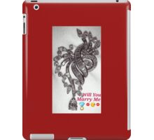 Will You Marry Me iPad Case/Skin