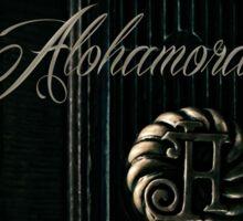 Alohamora Sticker