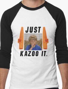 Just Kazoo it. Men's Baseball ¾ T-Shirt