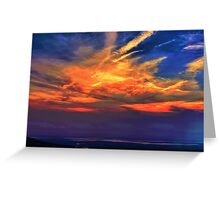 Memories of a Sunset Greeting Card