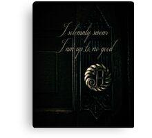 Potter Door Canvas Print