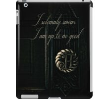 Potter Door iPad Case/Skin