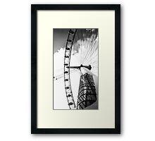 big wheel Framed Print