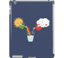 The Glass is Refillable iPad Case/Skin
