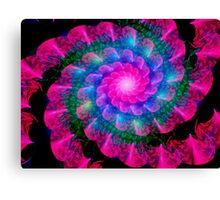 Ribbon Spiral Canvas Print