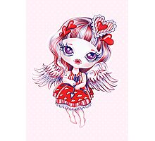 Valentine Girl Photographic Print