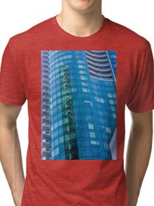 Architecture - Urban Lines and Reflections - San Francisco Tri-blend T-Shirt