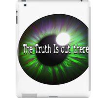 The X Files: Truth iPad Case/Skin