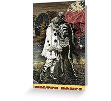 Mister Bones -- from The Zirkus Magi Greeting Card