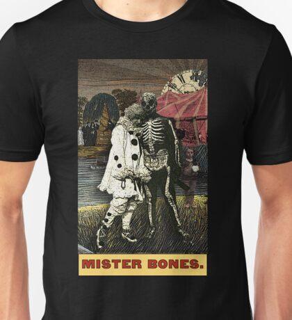 Mister Bones -- from The Zirkus Magi Unisex T-Shirt