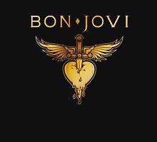 BEST BON JOVI LOGO SWORD HEART Unisex T-Shirt