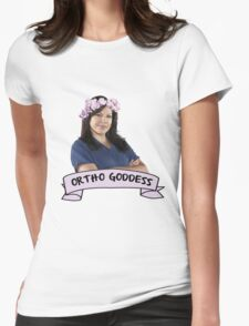 Callie Torres, Ortho Goddess Womens Fitted T-Shirt
