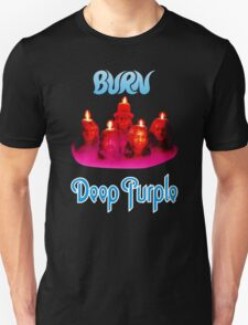 Deep Purple Burn 1974 Cover T-Shirt