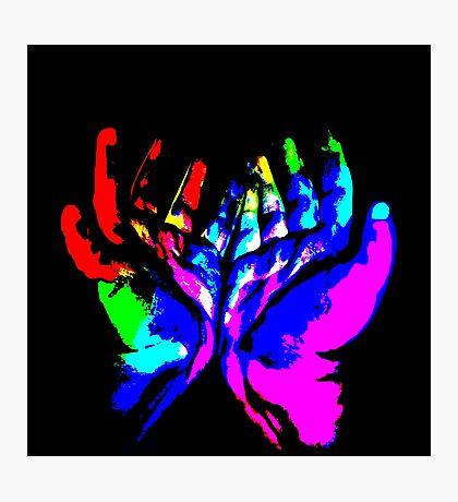 Hands of Creativity Photographic Print