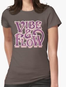 Vibe & Flow Womens Fitted T-Shirt