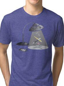 Desktop Abduction Tri-blend T-Shirt