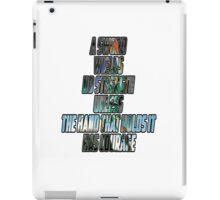 Zelda Master Sword iPad Case/Skin