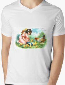 Loving Easter Greetings Mens V-Neck T-Shirt