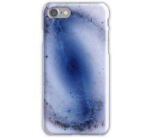 Blue Negative Wormhole  iPhone Case/Skin