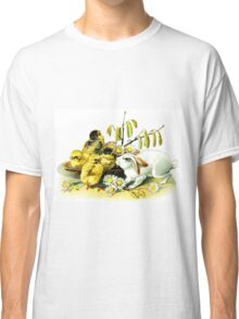 Vintage Bunny and Chicks Classic T-Shirt