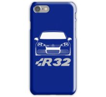 MKV Golf R32 Front iPhone Case/Skin