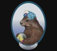 Psychic Groundhog Predicts the Future Kids Tee