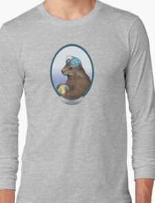 Psychic Groundhog Predicts the Future Long Sleeve T-Shirt