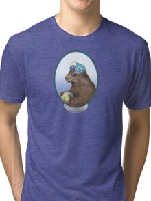 Psychic Groundhog Predicts the Future Tri-blend T-Shirt