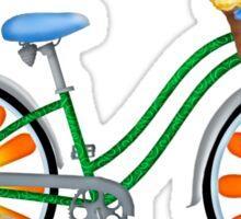 Flower Power Bicycle Sticker