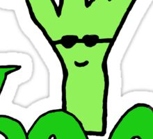 Veg out, Broccoli! Sticker