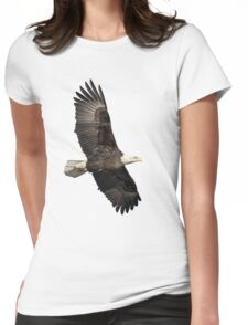 Isolated American Bald Eagle 2016-4 Womens Fitted T-Shirt