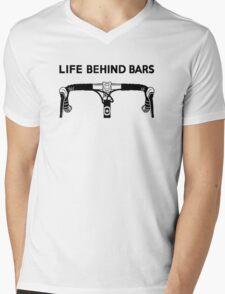 Life Behind Bars Bicycle Mens V-Neck T-Shirt