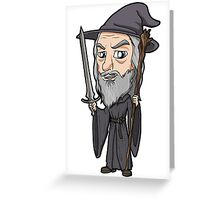 Lord of the Rings - Gandalf the Grey Greeting Card