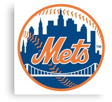 New York Mets Canvas Print