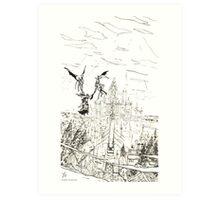 Dark Souls - Anor Londo Art Print