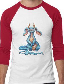 Little Luck Dragon Men's Baseball ¾ T-Shirt