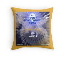 WHOLENESS COMES IN HIS LOVE Throw Pillow