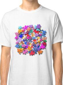 """Jigsaw Pieces"" graphic art Classic T-Shirt"