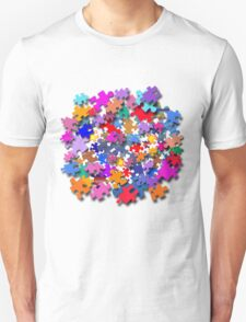 """Jigsaw Pieces"" graphic art Unisex T-Shirt"
