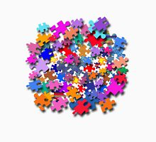 """""""Jigsaw Pieces"""" graphic art Unisex T-Shirt"""