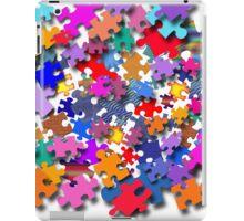 """Jigsaw Pieces"" graphic art iPad Case/Skin"