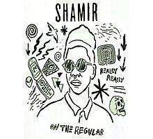 "Shamir 'On The Regular"" Photographic Print"
