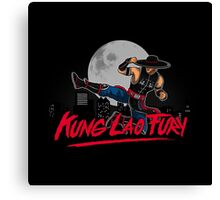 Kung Lao Fury Canvas Print